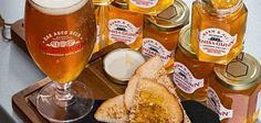 You can now spread beer on your morning toast – Famous Last Words Nutella, Egg Toast, Breakfast Snacks, Pretzel Bites, Tasty, Canning, Food, Tech News, Marmalade