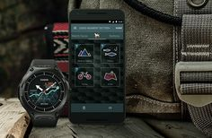 Casio Smart Outdoor Watch -- Casio's new Android Wear smart watch is built for outdoor action. It's water resistant up to 164 feet with a pressure sensor, compass and accelerometer & has a bunch of built-in apps. RunKeeper for running & cycling, V Stylish Watches, Cool Watches, Watches For Men, Aftershave, Android Wear Smartwatch, Mens Gear, Casio G Shock, Survival, Watch Faces