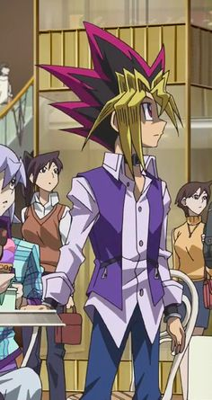 Yugi Muto in DSOD.    I love that outfit on him.