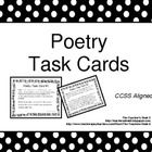 This is a set of twenty poetry task cards. I print these task cards on brightly colored paper, put them in a small photo album and place them on a ...