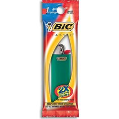 Bic Classic Disposable Lighter Colors May VaryPack of 3 -- Details can be found by clicking on the image. Note: It's an affiliate link to Amazon
