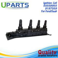 UPARTS Ignition Coil For Saab9-5 (YS3E) Estate/SAAB9-3 (YS3D) Cabriolet/Fordmondeo I Estate 2.0 2.3 9197559 Ignition Coil, Poland