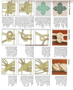 "!macrame makrame (1) by "" avociation of ingeniouses "", via Flickr"