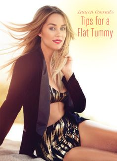 Lauren Conrad's Tips for How to Get a Flat Belly