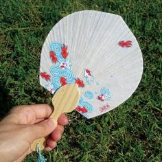 Korean Paper 'Hanji' Craft Fan