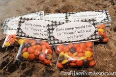 Craft Tales from the Unknown-pillow treats for girls camp