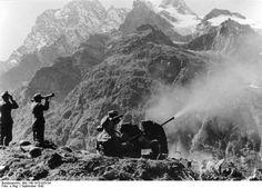 2cm Flak 38, 4. Gebirgs Division, Caucasus mountains, 1942