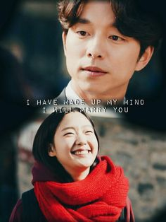 """I love you"" Goblin & his bride"