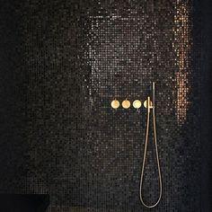 Bathroom Decor Ideas : Description Copper Dropper – 12 Faucets That Will Jazz Up Any Bathroom – Photos Bathroom Design Software, Bathroom Design Layout, Bathroom Tile Designs, Bathroom Design Luxury, Modern Master Bathroom, Classic Bathroom, Minimalist Bathroom, Modern Bathrooms, Borneo