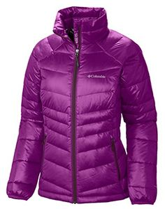 New Trending Outerwear: Columbia Womens Gold 650 Turbodown RDL Down Jacket XL, Bright Plum. Columbia Women's Gold 650 Turbodown RDL Down Jacket XL, Bright Plum  Special Offer: $79.00  277 Reviews 550-fill-power duck down meets 100g of our superior synthetic insulation in a street-friendly design that also happens to be one of the warmest, softest, and lightest-weight...