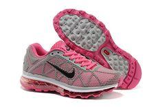 Nike Air Max 2009 Grå Pink Dame sko