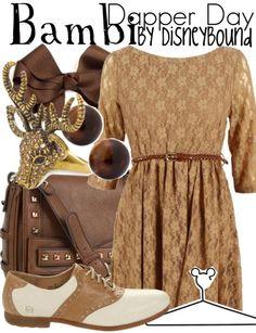Bambi by Disneybound - Love EVERYTHING! http://monroeappareluk.tumblr.com/