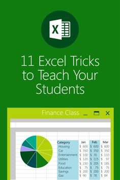 Discover a list of the most useful tips for one of your classroom's most useful tools, Microsoft Excel. #MSFTEDU