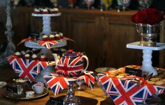 Worldwide Afternoon Tea for the Queen's Birthday  #timothyoulton
