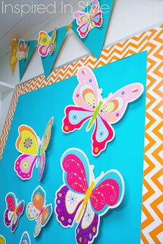 CTP's new Butterflies go perfectly with all the new Chevron Collection! #chevronideas #chevronclassroom