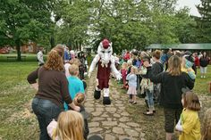 Menomonie Mustangs mascot revealed at the SummerDaze children's parade Photo Galleries, Action, Events, Marketing, Mustangs, Tips, Group Action, Advice, Wild Mustangs