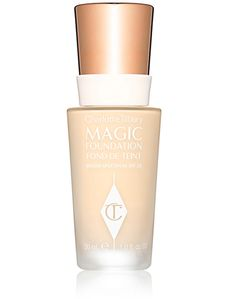 Best New Foundations 2016: Charlotte Tilbury Magic Foundation, $44   When they say full-coverage, they mean FULL-coverage. Also has hyaluronic acid, which means it's extra hydrating and plumping to get rid of fine lines.