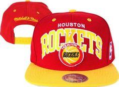 Mitchell & Ness Houston Rockets Hardwood Classics Team Arch 2-Tone Snapback Hat Mitchell & Ness. $25.99