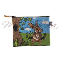 Pencil Case for Children with Rabbit Martin - MiaDeRoca Shops, Rabbit, Pencil, Purses, Children, Bunny, Bags, Kids, Handbags