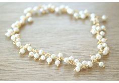 Gold Snow Bracelet