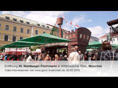 Eröffnung 20. Hamburger Fischmarkt @ Wittelsbacher Platz, München am 05....