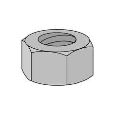 Unistrut Fiberglass Hex Nut. Eberl Iron Works, Inc. is a dsitributor of the Unistrut Fiberglass Framing System.
