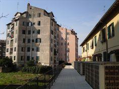 INA-CASA (16) Tiburtino INA Casa. Torre de Mario Ridolfi, arquitecto.