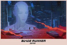 Blade Runner 2049 by Maciej Kuciara and Ash Thorp