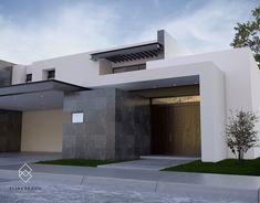 Casa SL: Casas de estilo moderno por Elias Braun Architecture #fachadasmodernasresidenciais
