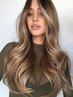 ♥️ Pinterest: DEBORAHPRAHA ♥️ Blonde with highlights and curls