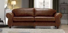 Madison 4 Seater Sofa - Contemporary Leather Furniture