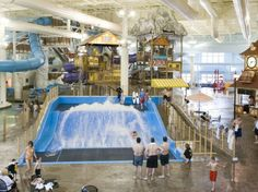 The World's Coolest Indoor Water Parks : Condé Nast Traveler  Avalanche Bay at Boyne Mountain in Boyne Falls makes the grade!  #PetoskeyArea  http://www.PetoskeyArea.com