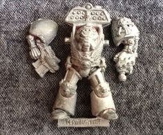 Warhammer 40K Terminator W/Cyclone Missile Launcher Rogue Trader Metal Oop Gw