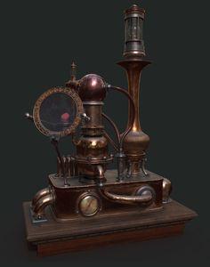 Based on  steampunk machines: Burton J. Sears.