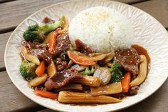 MiniBlogg.no Chop Suey, Wok, Pot Roast, Dinner, Ethnic Recipes, Sweets, China, Baking Soda, Carne Asada