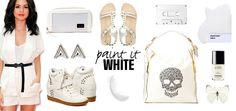 PAINT IT WHITE with Selena Gomez!  www.shopfriiscompany.com