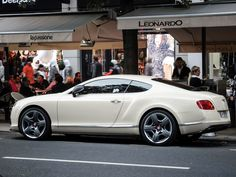 Photograph Bentley Continental by Jo Kerr on 500px