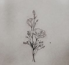 The most popular tags for this picture are: tattoo, delicate tattoo and flowers … - Flower Tattoo Designs Pretty Tattoos, Beautiful Tattoos, Cool Tattoos, Tatoos, Ink Tattoos, Forearm Tattoos, Bible Tattoos, Forearm Flower Tattoo, Tattoo Symbols