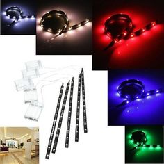 #Battery power operated 30cm led smd car wall strip fairy #light #waterproof stri,  View more on the LINK: 	http://www.zeppy.io/product/gb/2/351410927138/