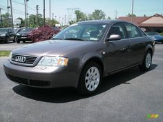 Audi a6 2001 | 2001 A6 2.8 quattro Sedan - Cashmere Gray Pearl Effect / Onyx photo #1