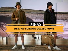 Highlights from the London men\'s collections.