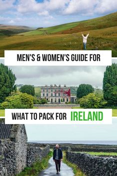 Check out this guide what to pack for Ireland including what to wear in Ireland for men and what to wear in Ireland for women and other Ireland travel tips to help you plan your Ireland Trip. #Ireland #Irelandtravel #Irelandtraveltips #euorpetravel