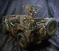 "MODELISMO Y MODELISTAS ""THE MASTERS"" III (ANEXO MILITARIA/CIVIL): ARMY: ""Jeep Willys"" Esc 1/6 by Serang Kim"