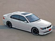 BMW 750 On 24s | ... Custom likewise BMW 7 Series E65 E66. on west coast customs cars bmw