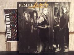 Femme Fatale Self Titled LP Album Vinyl Record MCF3433 Rock 80's Lorraine Lewis Music:Records:Albums/ LPs:Rock:Hard