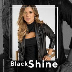 La texturas tipo cuero están disponibles para ti Haz clic en la imagen y compra online>>> Leather Jacket, Athletic, Jackets, Black, Fashion, Shopping, Vestidos, Underwear, Leather