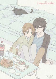 Takano and Ritsu