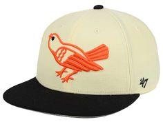 Baltimore Orioles '47 MLB '47 Natural No Shot Snapback Cap