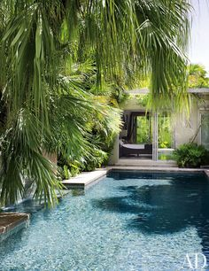 Exotic Pool by Malcolm James Kutner Inc. and Thomas E. Pope in Key West, Florida