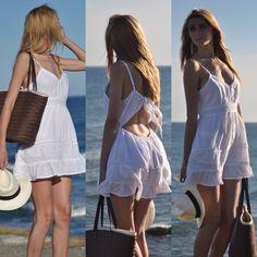 Otro vestido que ponerse para ir a la playa! Qué pensáis? Lo podéis pedir a través de correo electrónico #like #instalook #playa #españa #tienda #blog #ropa #fashion #moda #seguir
